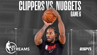 Clippers-Nuggets Game 6 preview | Hoop Streams