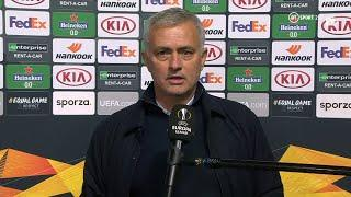 """""""The only one to blame is myself."""" Jose Mourinho reacts to Tottenham's defeat at Royal Antwerp"""