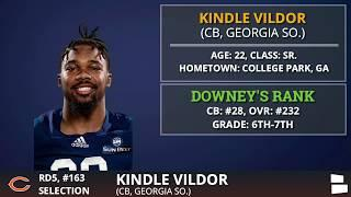 Chicago Bears Pick CB Kindle Vildor from Georgia Southern In 5th Round of 2020 NFL Draft