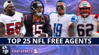 Top 25 NFL Free Agents After The Franchise Tag Deadline Entering Week Before 2021 NFL Free Agency