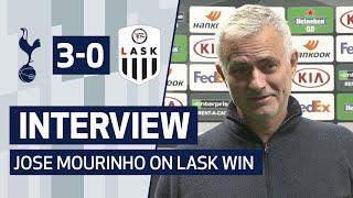 INTERVIEW | Jose Mourinho on LASK Victory in Europa League