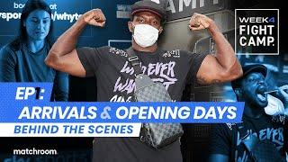 Fight Camp 4: Day 1 - Whyte vs Povetkin, Taylor vs Persoon 2 (Behind The Scenes) Arrivals