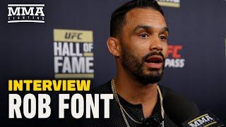Rob Font Eyes Fights With TJ Dillashaw, Jose Aldo After 'Told You So' Finish of Marlon Moraes