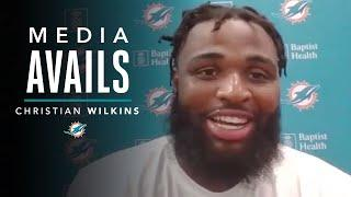 Christian Wilkins talks OTAs and more | Miami Dolphins