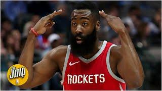 Should James Harden be encouraged by the Rockets' first games? | The Jump