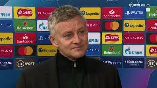 """This group is coming together"" Solskjaer reacts to Man Utd 5-0 RB Leipzig"