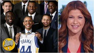 Discussing the history of sports champions visiting the White House | The Jump