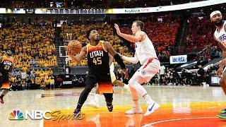 The Los Angeles Clippers shouldn't panic despite their Game 1 loss to Utah   PBT Extra   NBC Sports