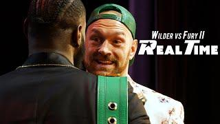 Wilder and Fury finally come face to face | Wilder vs Fury II - Real Time:  Episode 4