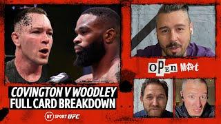 Colby Covington v Tyron Woodley: Full fight breakdown and predictions | Open Mat with Dan Hardy