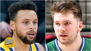 Stephen Curry or Luka Doncic: Who is under more pressure this season? | The Jump