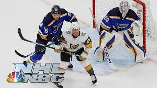 NHL Stanley Cup Round Robin: Golden Knights vs. Blues | EXTENDED HIGHLIGHTS | NBC Sports