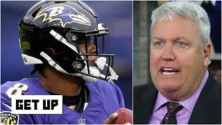 Rex Ryan to the Ravens: Stop trying to make Lamar Jackson into Aaron Rodgers! | Get Up