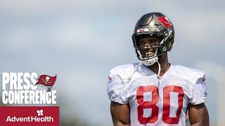 O.J. Howard on Improving Communication & Facing the Panthers    Press Conference