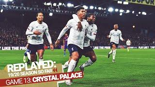 REPLAYED: Crystal Palace 1-2 Liverpool   Firmino fires in late to win it at Selhurst Park