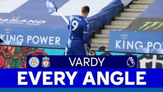 EVERY ANGLE | Jamie Vardy vs. Liverpool | 2020/21
