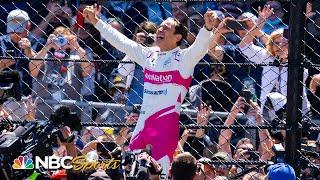 Indy 500: Helio Castroneves wins Indianapolis 500, becomes four-time winner   Motorsports on NBC