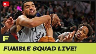 NBA Considering Delaying Broadcast To CENSOR Players & Bad Language! | Fumble Live!