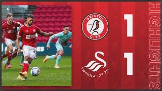 HIGHLIGHTS | Wells penalty gives Robins a draw! | Bristol City 1-1 Swansea City