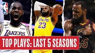 LeBron James' TOP PLAYS | Last 5 Seasons