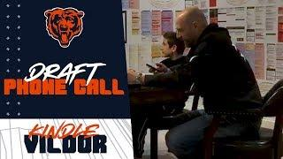 Behind the Scenes | Nagy tells Kindle Vildor he's a Chicago Bear