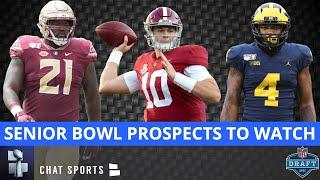 2021 NFL Draft: Top Senior Bowl Prospects To Watch As Possible Risers & Fallers
