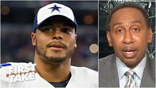 The Cowboys should have given Dak Prescott a long-term deal a while ago - Stephen A. | First Take