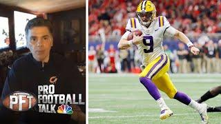 Instant Reaction: Cincinnati Bengals draft Joe Burrow first overall | Pro Football Talk | NBC Sports