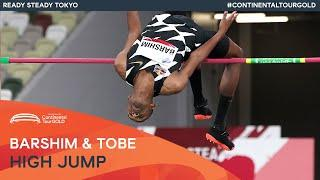 Barshim and Tobe tie for high jump win   Ready Steady Tokyo Continental Tour Gold
