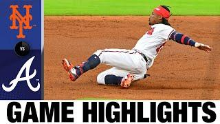 Ronald Acuna Jr., Marcell Ozuna homer in win over Mets | Mets-Braves Game Highlights 8/1/20