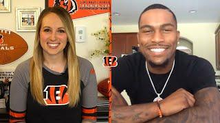 Catching Up With Bengals Wide Receiver Auden Tate