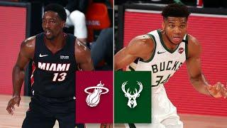 Miami Heat vs. Milwaukee Bucks [FULL HIGHLIGHTS] | 2019-20 NBA Highlights