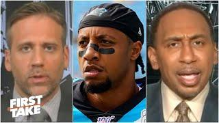 Why is Eric Reid still a free agent? First Take debates