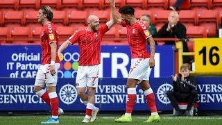 MULTI-CAM | Macauley Bonne's goal v Derby from different angles (Charlton 3-0 Derby)