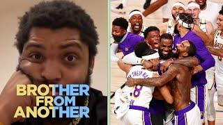 O'Shea Jackson Jr.: NBA 'is the Lakers'; Clippers 'are trash'  | Brother from Another | NBC Sports