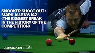 Mark Allen's 142 - The biggest break in the history of the competition! | Snooker Shoot Out 2021