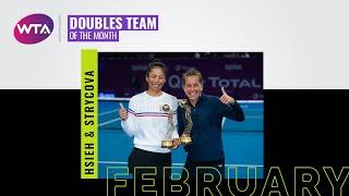 February 2020 Doubles Team of the Month | Barbora Strycova and Hsieh Su-wei
