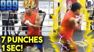 *FAST* PACQUIAO SPEED BREAKS SOUND BARRIER! (7 PUNCHES PER 1 SECOND) ERROR SPENCE IN BIG TROUBLE