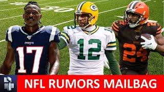 NFL Rumors: Antonio Brown, Aaron Rodgers To Cowboys, Nick Chubb + 49ers Trade Rumors I Mailbag