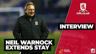 Neil Warnock Excited By Boro Future