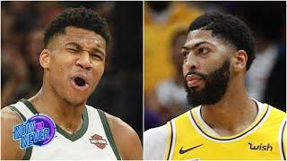 NBA Awards Predictions: Giannis or AD for DPOY? Giannis or LeBron for MVP? | Now or Never