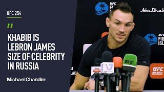 Chandler speaks on Islam Makhachev fight, compares Khabib to LeBron James