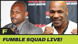 Mike Tyson Returning To Boxing After 15 Years In 8 Round Exhibition vs. Roy Jones Jr | Fumble Live