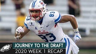 College Football Week 1 Recap & Pounding the Table at WR | Journey to the Draft