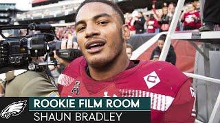 How Shaun Bradley's Athleticism & Toughness Translates to the NFL | Eagles Rookie Film Room