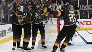 Golden Knights stun Avalanche with 2 goals in 45 seconds