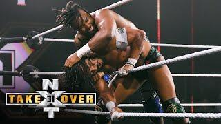 """""""Swerve"""" defies gravity against Santos Escobar: NXT TakeOver 31 (WWE Network Exclusive)"""