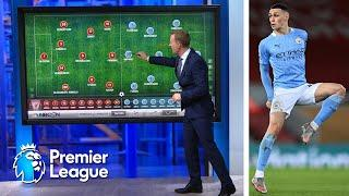 Phil Foden was focal point of Manchester City midfield | Premier League Tactics Session | NBC Sports