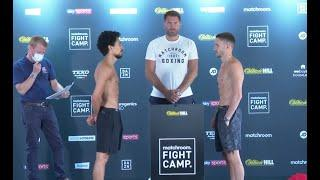 A REAL PICK'EM! - JORDAN GILL v REECE BELLOTTI - OFFICIAL WEIGH-IN WITH EDDIE HEARN / FIGHT CAMP