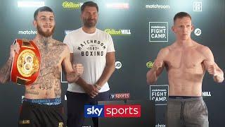 SAM EGGINGTON VS TED CHEESEMAN! | LIVE WEIGH-IN